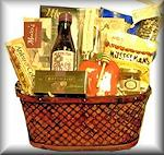 Rosh Hashana Basketweave Basket