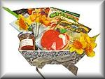 Rosh Hashana Greetings Basket