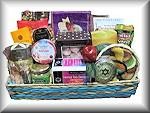 Rosh Hashana Three Section Basket